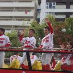 2017カープ優勝パレードに広島に行ってきました!