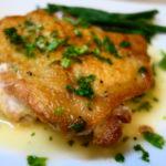 鶏肉のソテー レモンソース