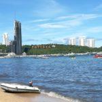 パタヤビーチと早朝のウォーキングストリート 2017/9月 タイ旅行