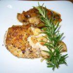 鶏ムネ肉のソテー ラタトゥーユ添え