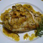 チキン(鶏むね肉)ソテー マスタードソース