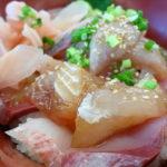 内房 保田漁港直営「ばんや」漁師まかない丼 デミオ(demio)でドライブ