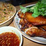 ガイヤーンとラープ・ウンセン(タイ イサーン料理)