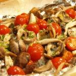 鱈とあさりのイタリアンホイル焼き