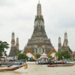 2010タイ旅行記(バンコク)Vo.18  ワットアルン サパーンタクシン~カオサンン (9/14) Thai Chao San