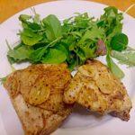 鶏胸肉の 五香粉マリネ焼き