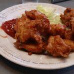 東京小平市小川町 中華料理 喜楽 鶏から定食