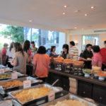2010タイ旅行記Vo.12 アユタヤ クルンシリリバーホテルKrungsri River Hotel Ayutthaya 朝食 (9/12)と美味しいお菓子名「ロッティーサイマイ」