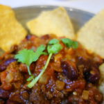 焼肉用カルビ肉で作るチリコンカン メキシカンな夜は続く!