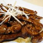 とんかつ肉で作る「五香粉(ウーシャンフェン)香る黒酢豚」は高級中華の味