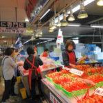 5月に紅ズワイガニを市場で豪快に食す!「境港水産物直売センター」