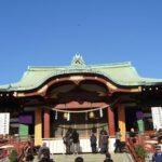 初詣(亀井戸神宮)