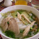 ホーチミンで食べる本格鶏肉のフォー「フォー24」サイゴンホテルと市民劇場 2007ベトナム旅行