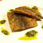 秋刀魚のムニエルと香草パン粉焼き