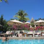 バリ島旅行(4日目) パドマホテル プール&シーサイド