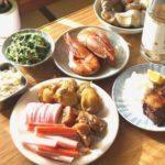 2010年お正月 海老の醤油煮、つぶ貝の煮つけ、ぶりの照り焼き
