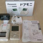 ワイヤレスドアモニター  Panasonic ドアモニ(VL-SDM210)を使ってみた