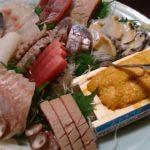 豪華刺し盛りに天婦羅 蘇我 居酒屋  鮮魚料理 松膳
