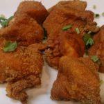 鶏むね肉で「レンジでチンするから揚げ粉」に五香粉を使って作ってみた