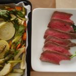 大晦日料理 ローストビーフと野菜のオーブン焼き