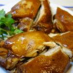 栗原はるみさんの油鶏(ヤオカイ)(鶏肉の醤油煮)を作ってみました。ただ、少し失敗…