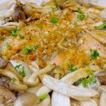 料理 秋鮭ときのこのホイル焼き
