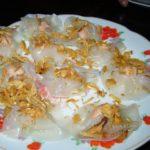 築100年以上の古民家レストラン チュンバック(TRUNG BAC)でホイアン三大名物グルメ「ホワイト・ローズ」「揚げワンタン」「カオラウ」2007ベトナム旅行