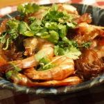 タイ料理 クン・オプ・ウンセンを作ってみた! (エビと春雨の蒸し物)