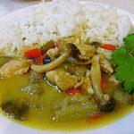 タイ料理 グリーンカレー、ガイヤーン