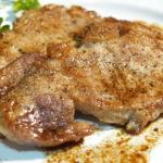 黒豚ポークステーキ pork steak