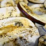 茄子の青かびチーズ(ゴルゴンゾーラ・ピカンテ)オーブン焼き