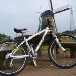 印旛沼サイクリングロード ルイガノキャスパーで30K