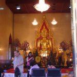 バンコク ヤワラート(中華街)ワットトライミット(黄金仏寺院) 2008年タイ旅行