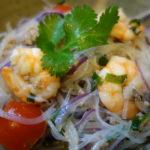 日本食材で作るヤムウンセン ポイントは茹で仕上げの具材の混ぜ方に