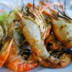 パタヤで一番美味しい?グンパオ(川海老の炭火焼) シーフードレストラン プラジャバーン 2016年9月タイ旅行