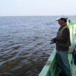 東京湾メバル、カサゴ釣り 海の上で飲むビールは格別
