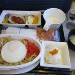 成田(Narita)→バンコク(Bangkok)ANA機内食