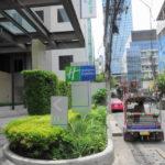 2016年9月タイ旅行 羽田空港~バンコク Holiday Inn Express Bangkok Sathorn(ホリディインエクスプレスバンコクサトーン)