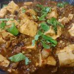 牛手作りミンチとピーシェン豆板醤を使った「陳麻婆豆腐」