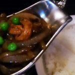 ランチ 五反田 洋食 グリルエフの大人のハヤシライスと白いナポリタン