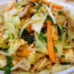 沖縄料理 フーチャンプルー&ソーキそばを作ってみました フーチャンプルーはナンプラーで味付け