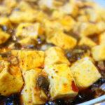 簡単フライパンで作る本格陳麻婆豆腐、辛くて痺れて牛肉の食感を楽しむ大人の麻婆