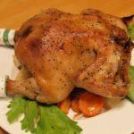 料理 丸鶏のロースト (クリスマスチキン)