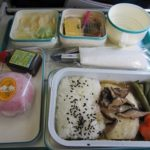 ガルーダ航空 機内食 バリ島旅行2009/7/16~7/21 (初日)