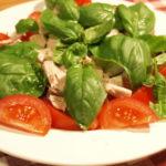 鰹のイタリアン オリーブオイルマリネのカツオサラダ
