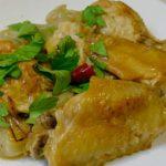 鶏手羽と野菜の炒め煮ナンプラー風味