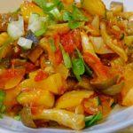料理 夏野菜のカポナータ