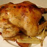 自宅で丸鶏のオーブン焼き(クリスマスチキン)美味しくできました!