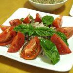 オリーブオイルマリネのカツオサラダ