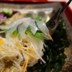 広島 和ダイニング花子 鉄板焼きの名店花子が和食をつくる 小いわしの天婦羅旨し!